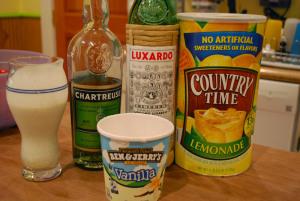 Boozy Milkshake (Recipe # 1) – Citrus & Chartreuse