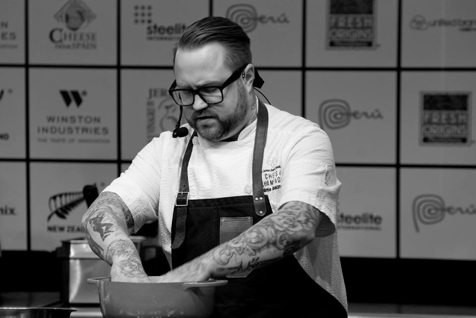 Chef Jamie Bissonnette at StarChefs ICC 2014