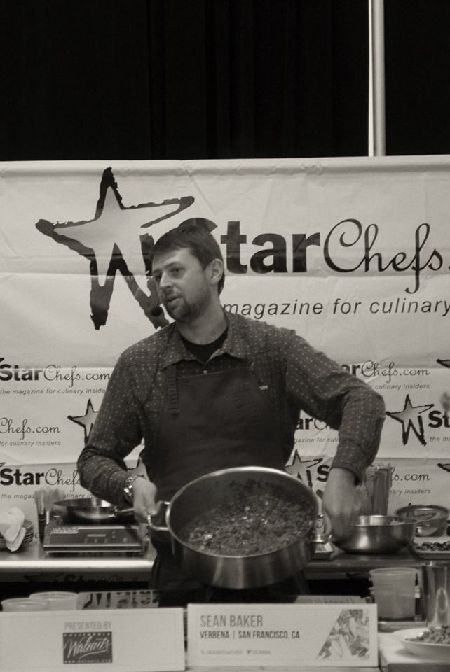 Chef Sean Baker at StarChefss ICC 2014