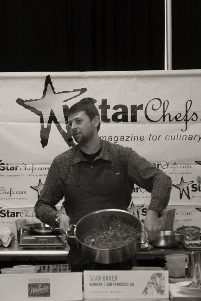 Chef Sean Baker at StarChefss ICC 2014