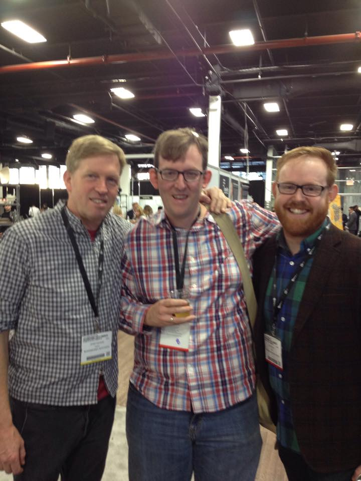 Chef Chris Spear with Spike Gjerde and Opie Crooks at StarChefss ICC 2014