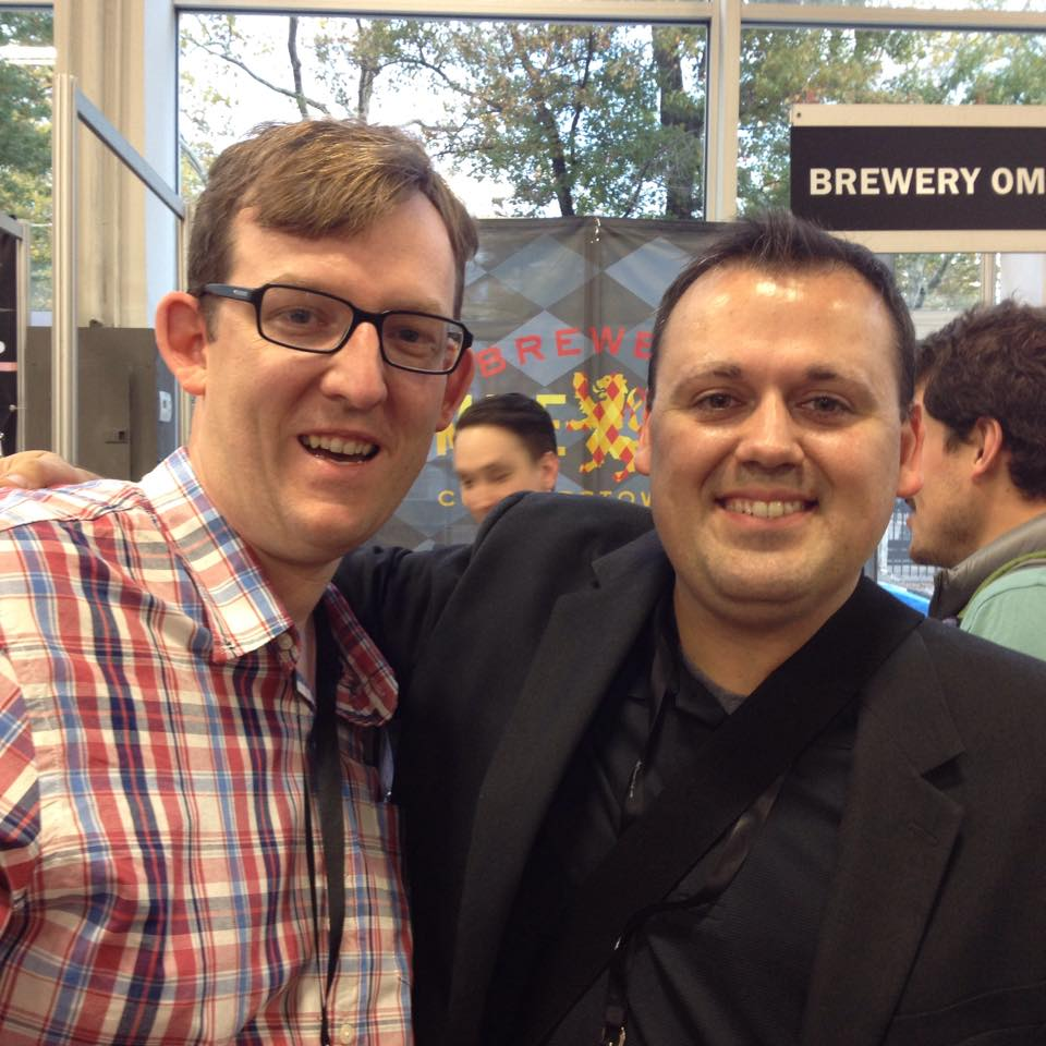 Chef Chris Spear with Homaro Cantu at StarChefss ICC 2014