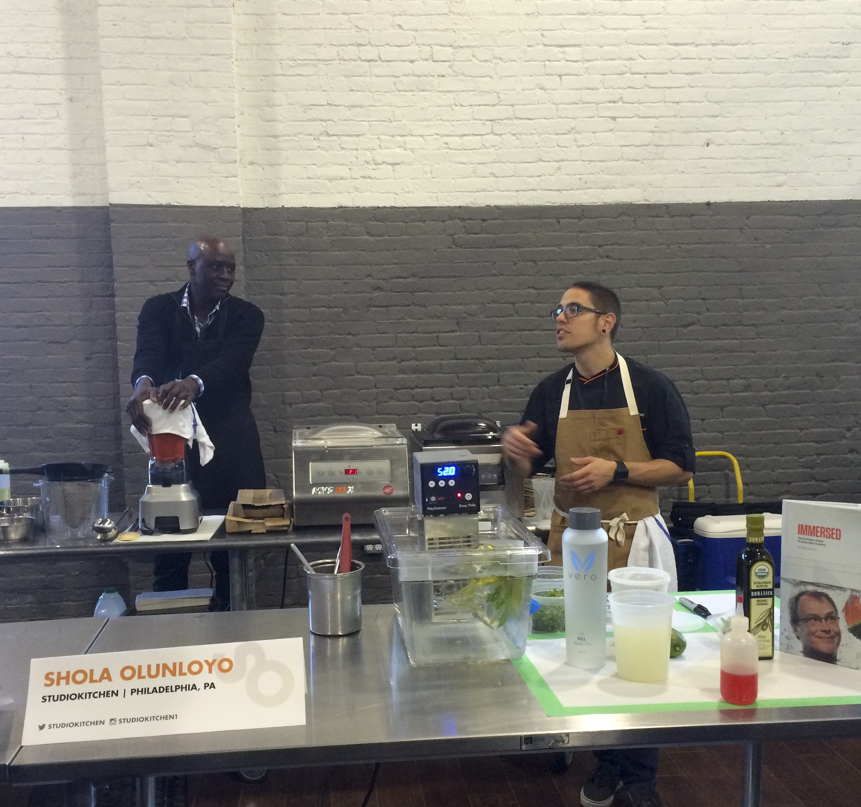 Chef Shola Olunloyo at Starchefs ICC 2015