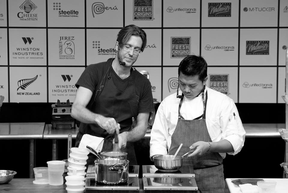 Chef Will Goldfarb at StarChefs ICC 2014