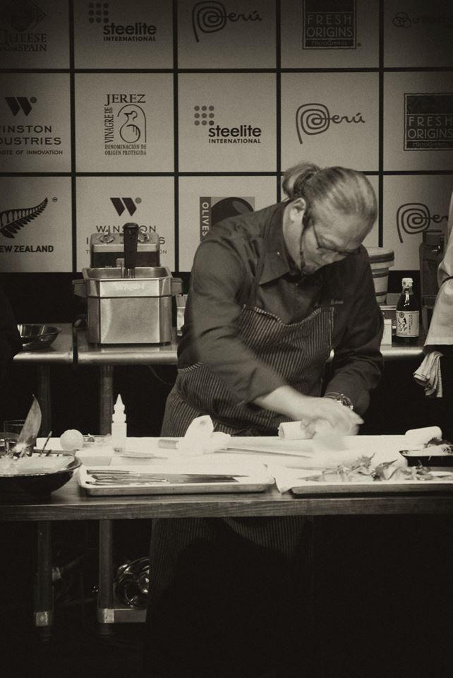 Chef Masaharu Morimoto at StarChefs ICC 2014