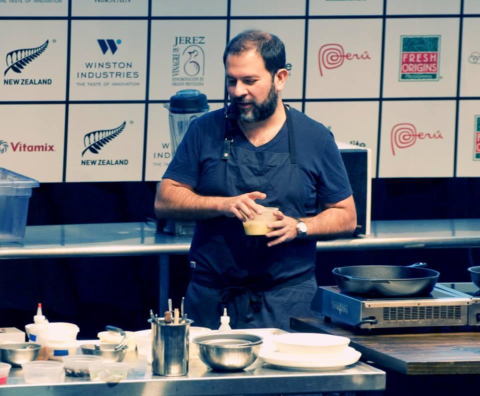 Chef Enrique Olvera at StarChefs ICC 2014
