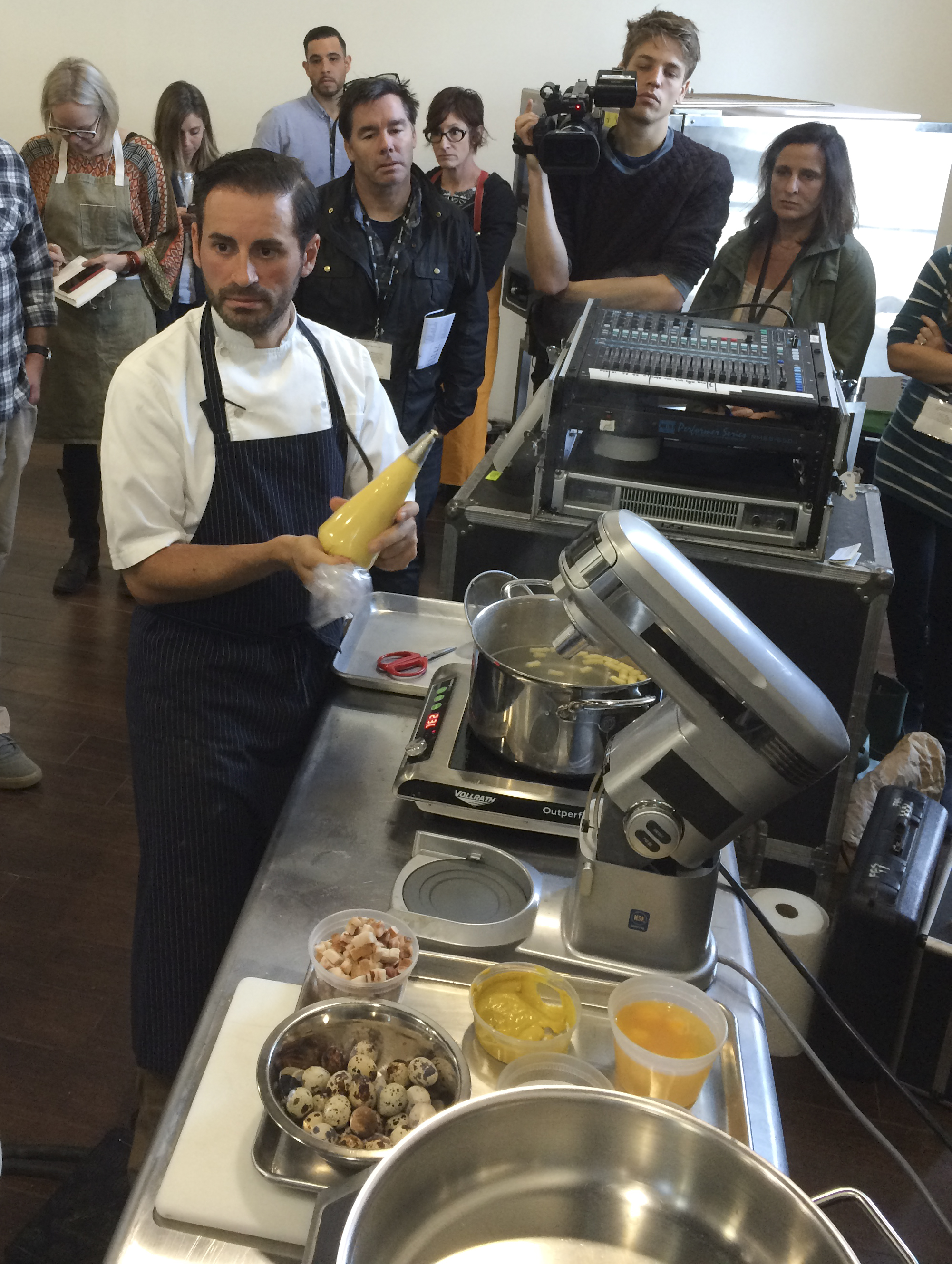Chef Matt Accarrino at Starchefs ICC 2015