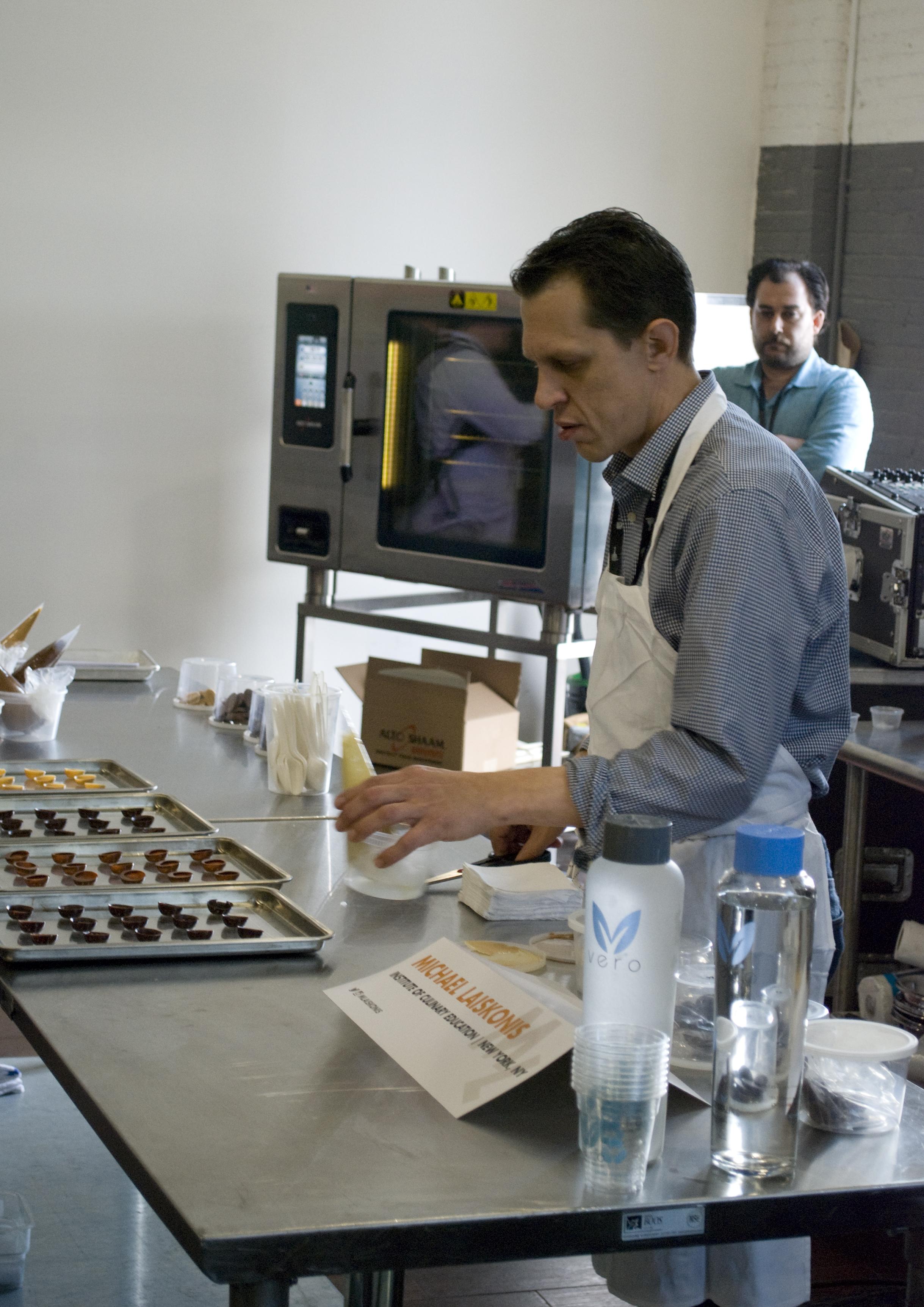 Chef Michael Laiskonis at Starchefs ICC 2015