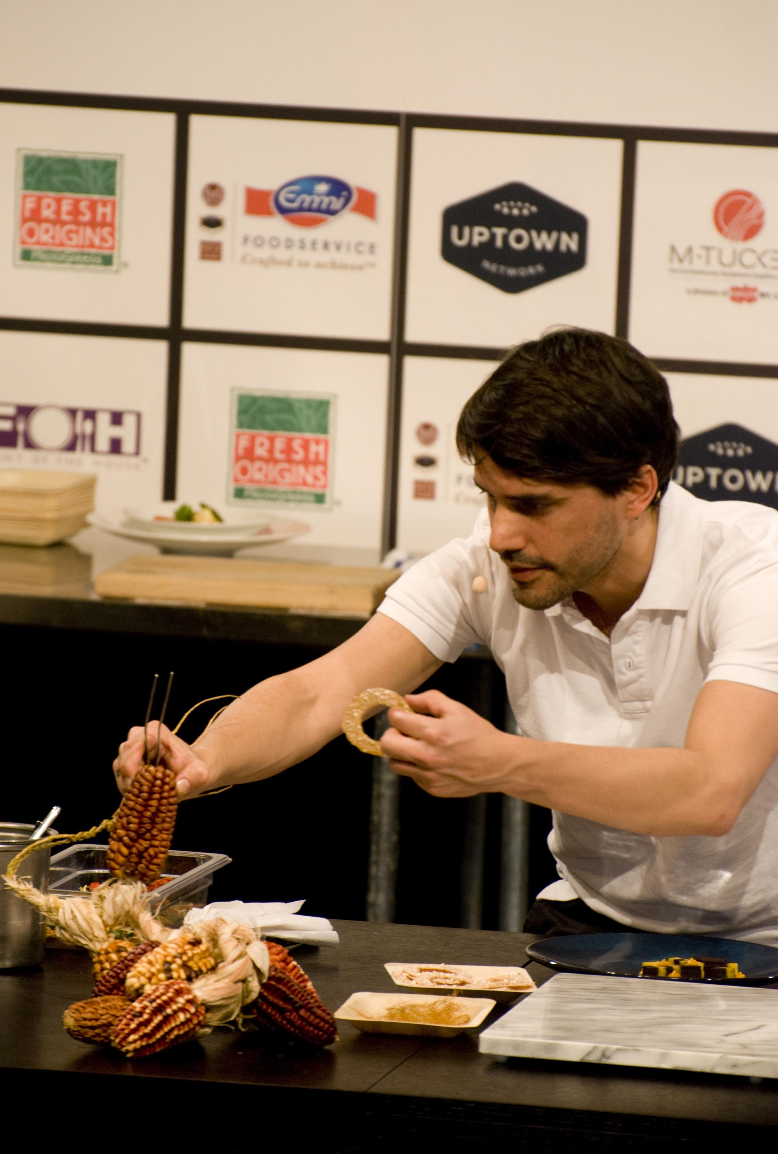 Chef Virgilio Martinez at Starchefs ICC 2015