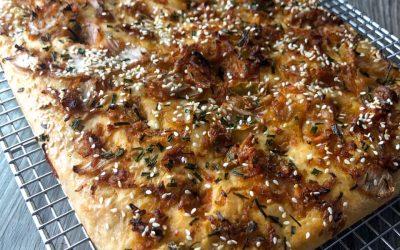 Kimchi Focaccia
