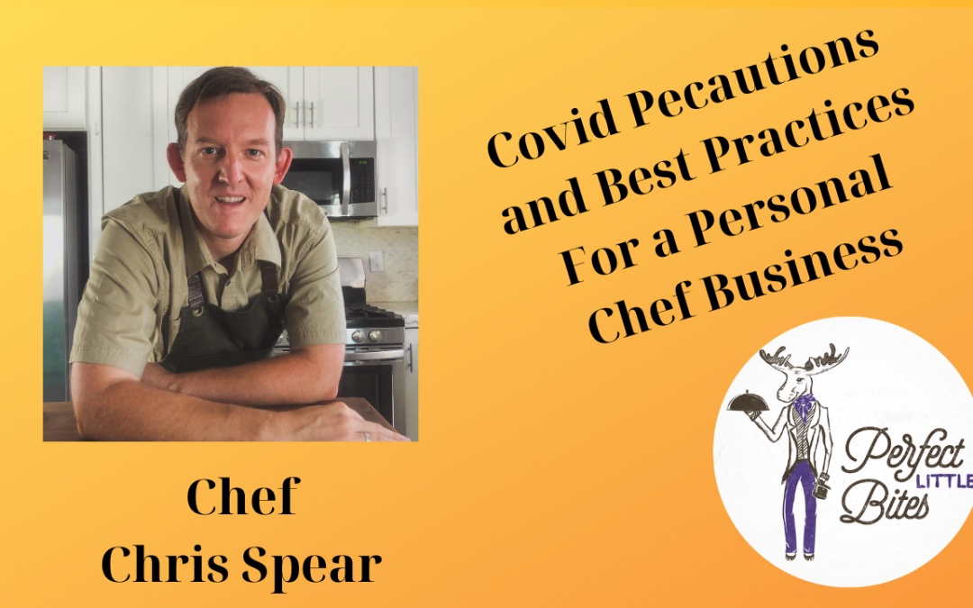 covid precautions for personal chefs and restaurants